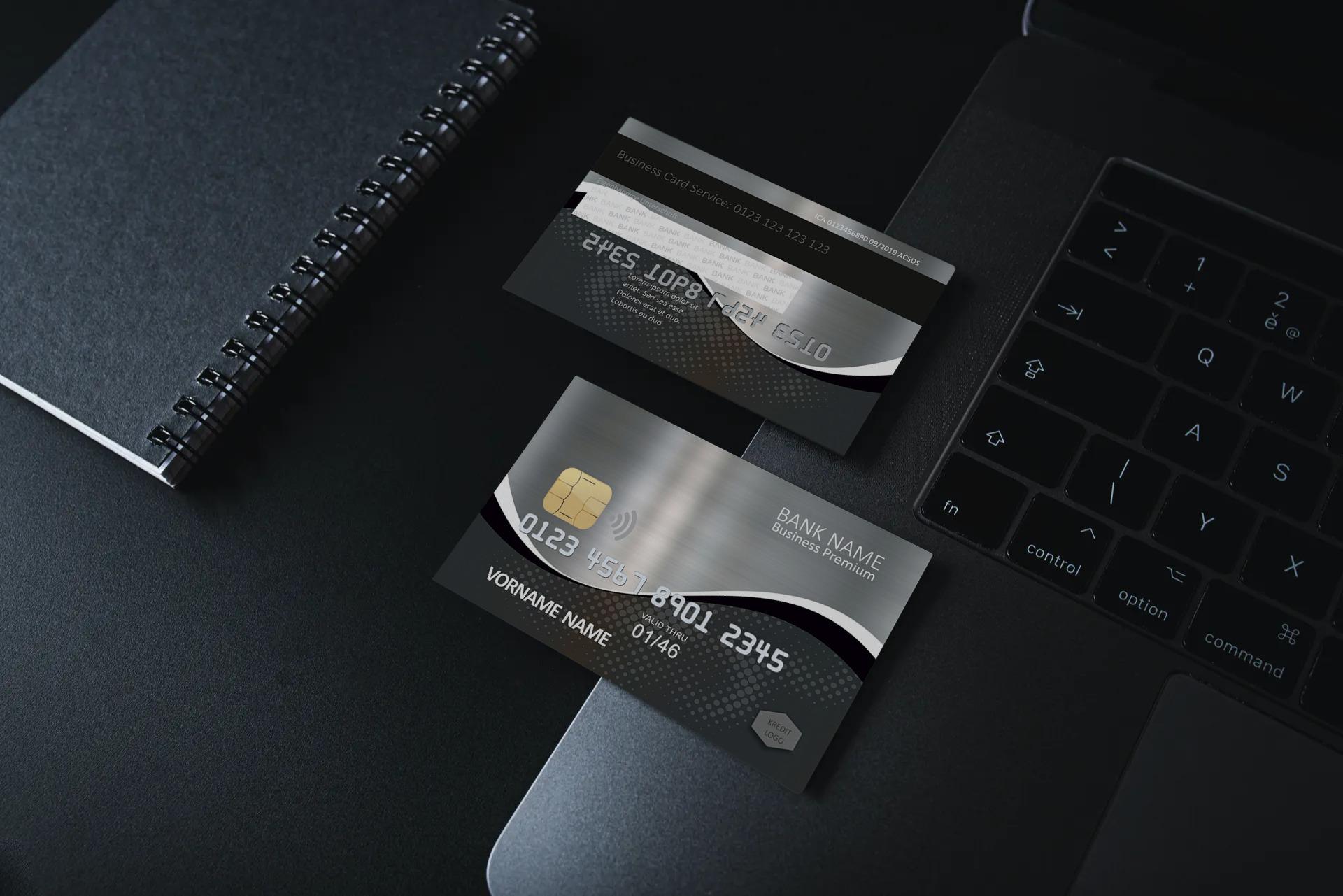 Kreditkarte Designvorlage KC-2019-000115 - TEXTAG GROUP