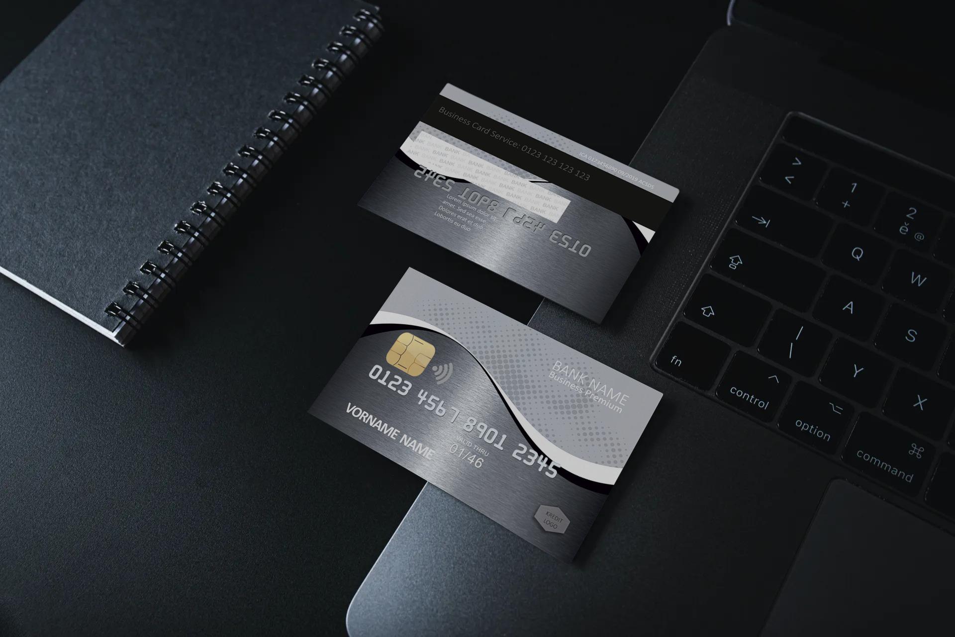 Kreditkarte Designvorlage KC-2019-000116 - TEXTAG GROUP
