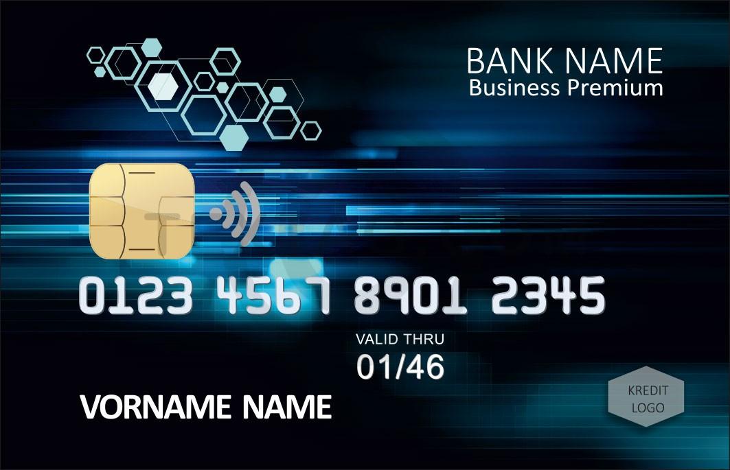Kreditkarte Designvorlage KC-2019-000117 - TEXTAG GROUP