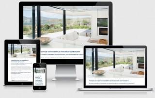 Webdesign Referenz Immobilienagentur Germania