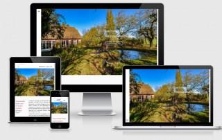"""Ferienhaus """"Hof Garz"""", Rügen Neuerstellung der Website, Responsive Webdesign mit WordPress"""