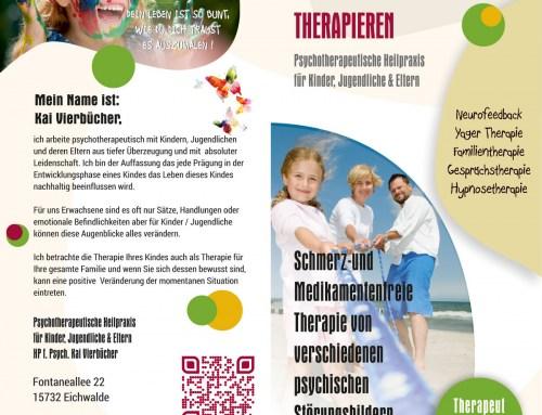 Grafikdesign Referenz – Psychotherapeutische Heilpraxis, Eichwalde