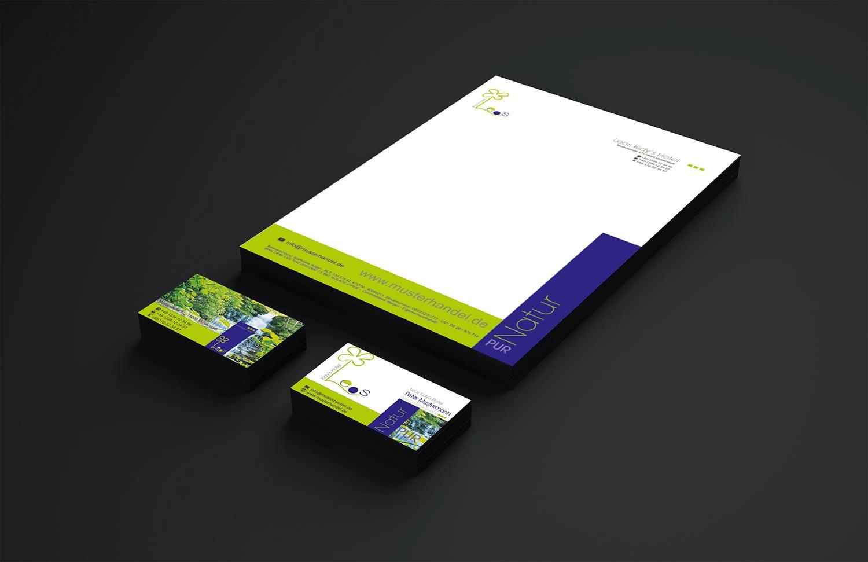 """Geschäftsdrucksorten Vorlage Briefpapier, Logo, Kuvert, Visitenkarte """"Leos Kidy Hotel"""""""