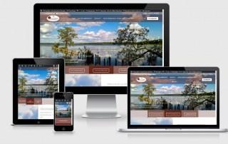 Webdesign Referenz: Naturstamm Ferienhäuser in der Mecklenburgischen Seenplatte www.ziegelerberg.com