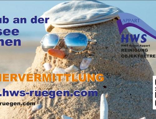 Grafik & Design Referenzen: HWS RÜGEN – Flyer & Werbeschilder