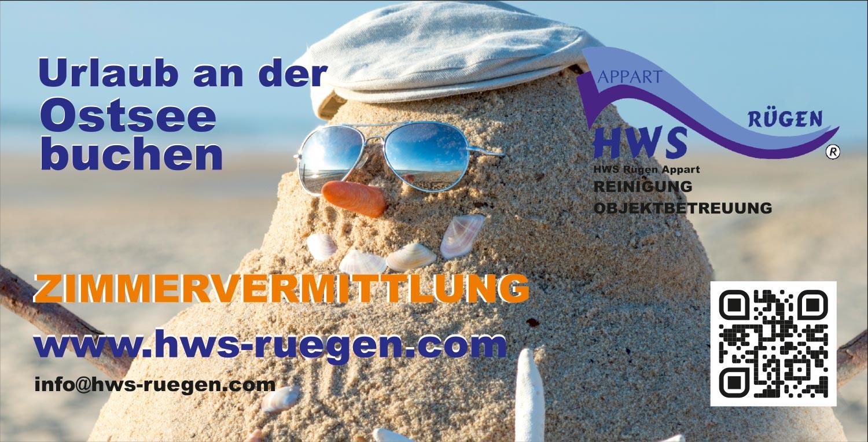 Grafik & Design Referenzen: HWS RÜGEN - Klaus Graboswki - Flyer & Werbeschilder