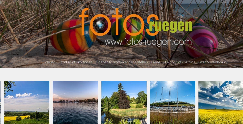 Stockfotos, Landschaftsfotos, Panoramafotos von Rügen
