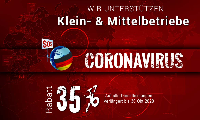 35 % Corona Rabatt für KMUs