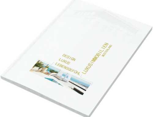 """Exklusive Exposé Vorlagen """"White & Gold"""" für Immobilienmakler – WHITE & GOLD"""