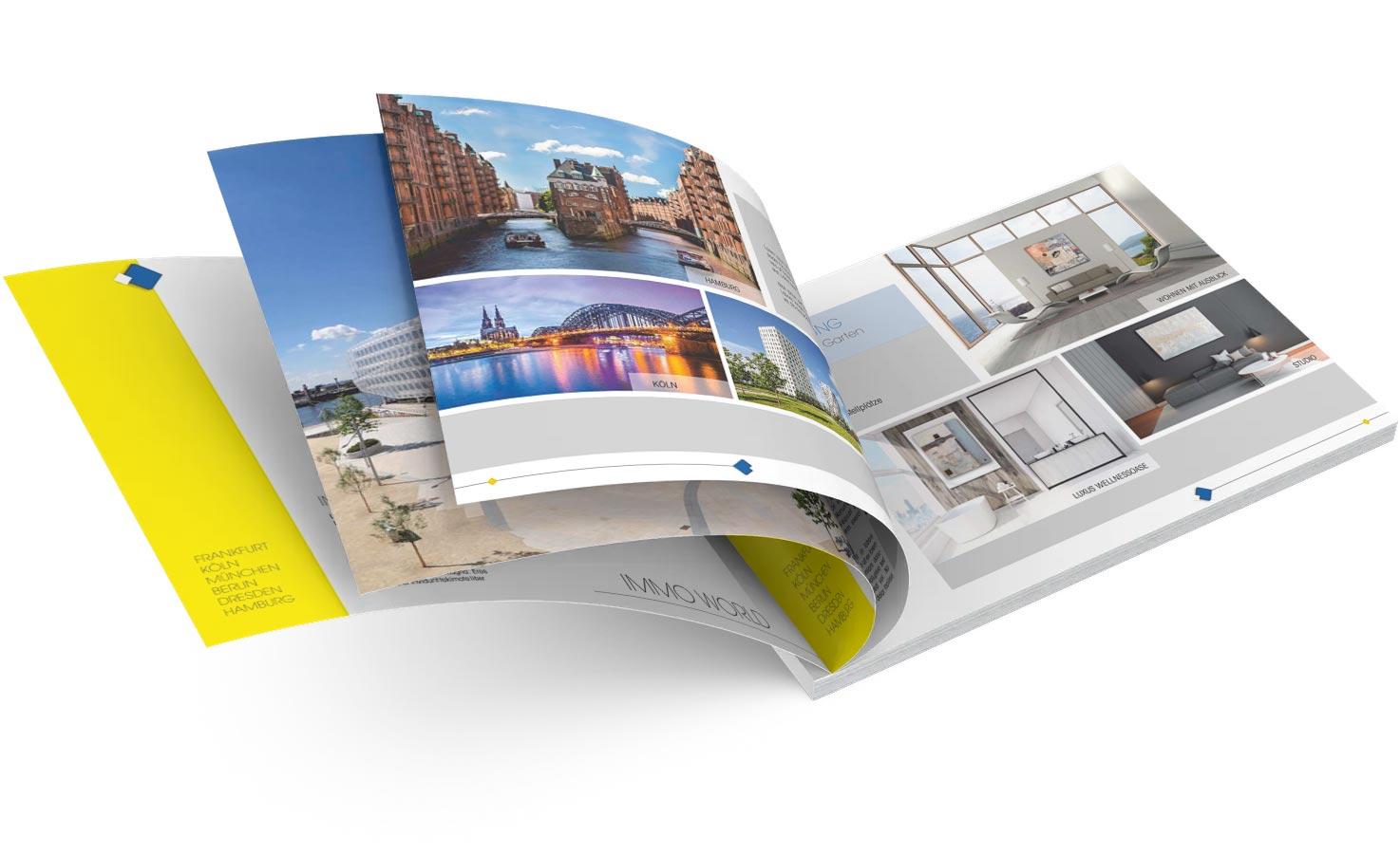 Exklusive Exposé Vorlagen online für Immobilienmakler oder Architekten