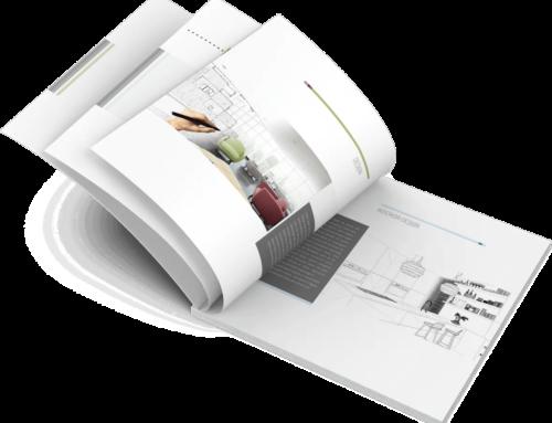 """Broschüre / Exposé Vorlage """"ARCHITEKTUR"""" für Architekten & Immobilienmakler DIN A4, Querformat"""