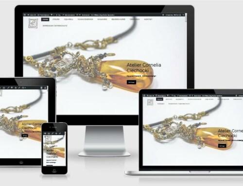Website Referenz, One Page – Atelier-CC.de, Rappin / OT Moisselbritz