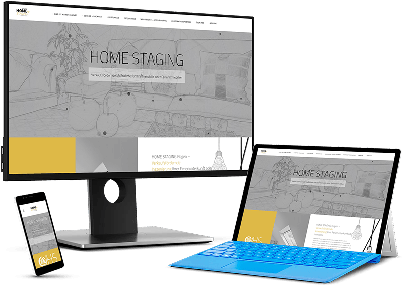 HOME STAGING – Wir stagen Ihre Immobilie für Privatpersonen, Immobilienmakler oder Bauträger