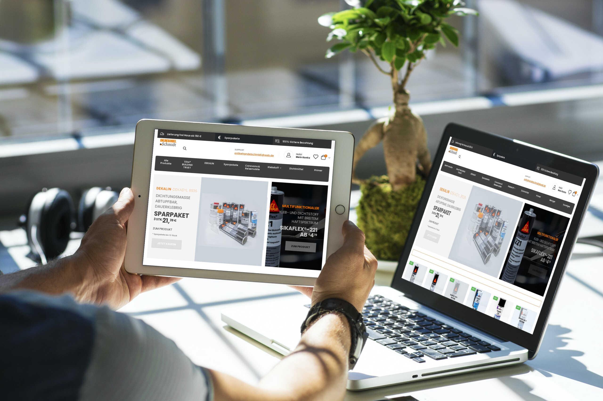 Referenz: Woocommerce Shop Onlinehandel Schmidt, Wendorf