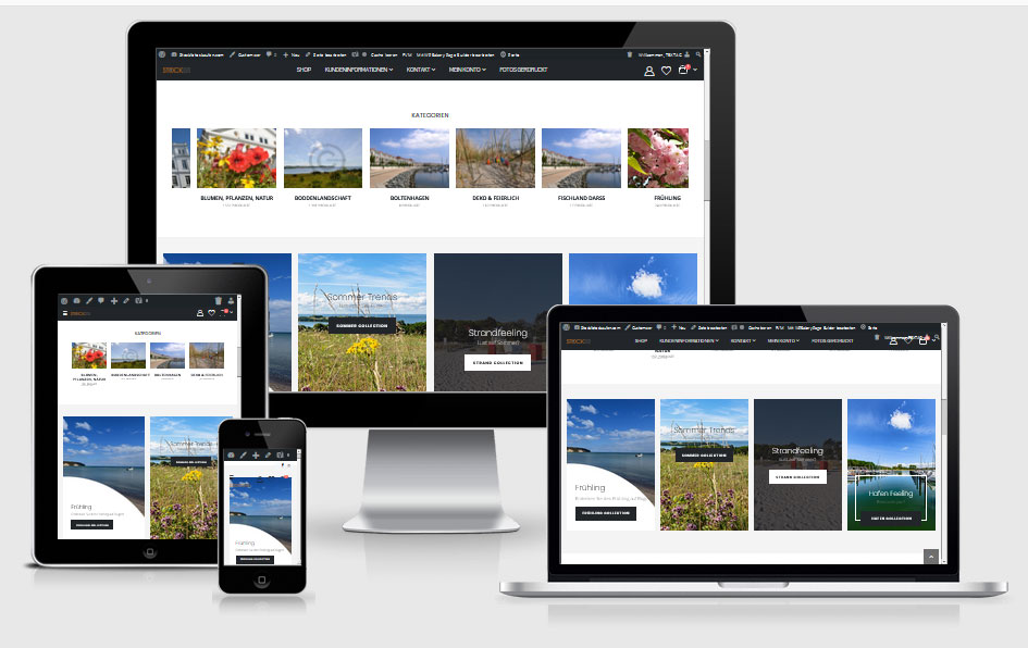 Webdesign-Referenz: wooCommerce Shop www.stockfotoskaufen.com