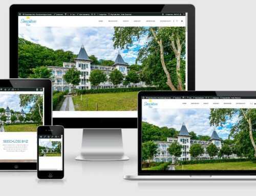 Seeschloss Binz, Uhlendorf Immobilien & Schöne Ferien auf Rügen